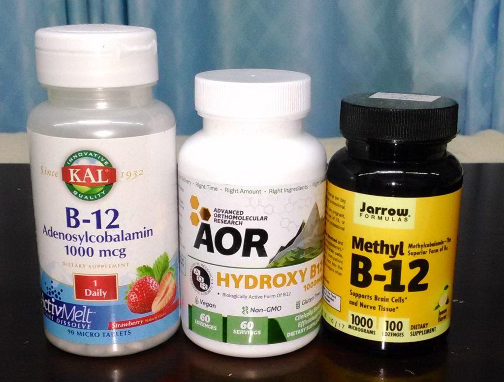 一口にビタミンB12と「いっても実際には、数種類がありそれぞれに働きが異なります。